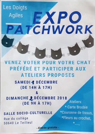 Expo Patchwork @ Salle Socio-culturelle