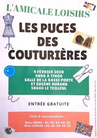 Puces des couturières @ Salle de la Basse Porte et salle Eugène Durand