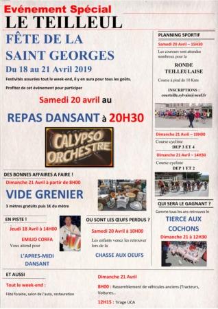 Fête de la Saint-Georges @ Place du Champ de Foire