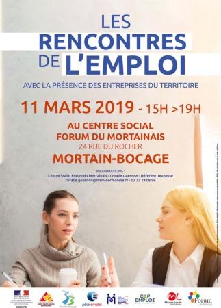 Rencontres de l'Emploi @ Forum du Mortainais, 24 rue du Rocher