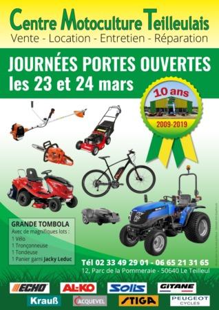 Journées portes ouvertes du Centre Motoculture Teilleulais @ Parc de la Pommeraie