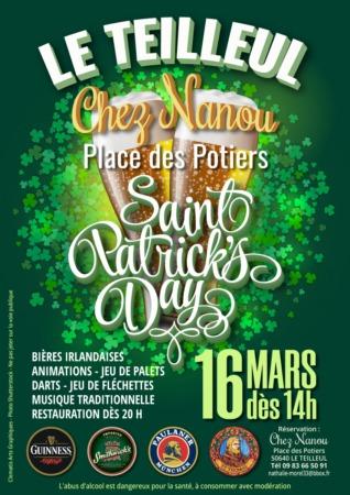 Saint Patrick's Day @ Place des Potiers