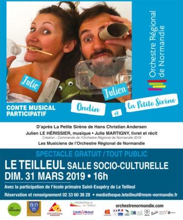 Ondin et la Petite Sirène @ Salle Socioculturelle