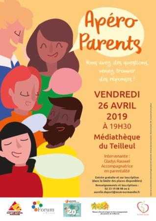 Apéro Parents @ Médiathèque du Teilleul