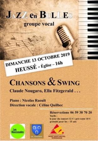Concert JAZZ en BULLES @ Église de Heussé