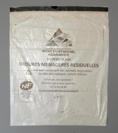 Distribution de sacs poubelles @ Mairie du Teilleul