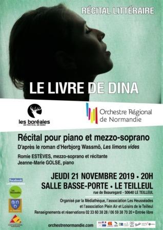 Récital pour piano et mezzo-soprano @ Salle de la Basse Porte