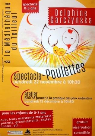 Atelier-Poulettes @ Médiathèque du Teilleul