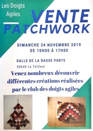 Vente Patchwork @ Salle de la Basse Porte