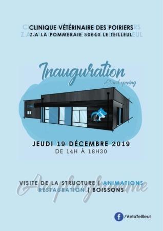 Inauguration Clinique Vétérinaire des Poiriers @ Z.A. La Pommeraie