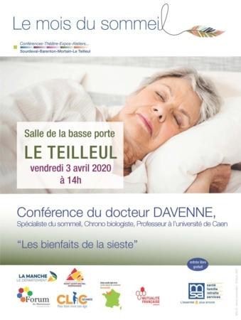 """Conférence """"Les Bienfaits de la Sieste"""" @ Salle de la Basse Porte"""