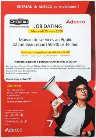 Job Dating @ Pôle de Services