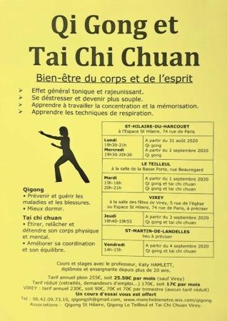 Qi Gong - Tai Chi Chuan @ Salle de la Basse Porte