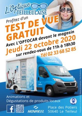 TESTS DE VUE GRATUITS @ Place des Potiers