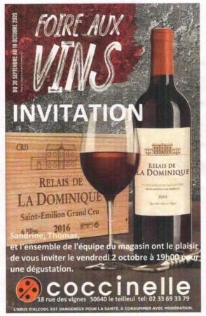 Foire aux Vins @ 18, rue des Vignes
