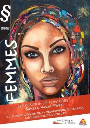 """Exposition """"FEMMES"""" @ Médiathèque"""