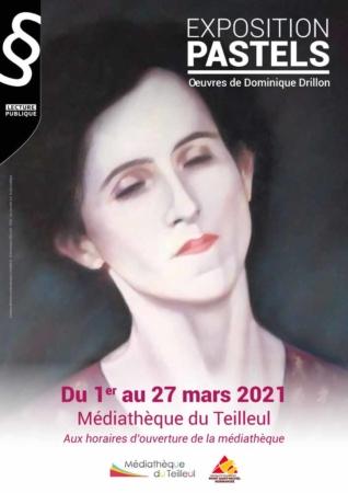 """Exposition """"PASTELS"""" @ Médiathèque"""