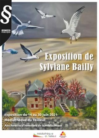 Exposition de Sylviane Bailly @ Médiathèque