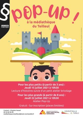 Pop-up ! @ Médiathèque