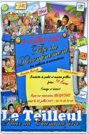 Fête du Déconfinement @ Place du Champ de Foire