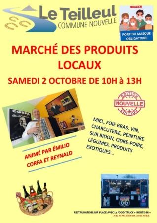 Marché du terroir @ Les Halles, Place du Champ de Foire