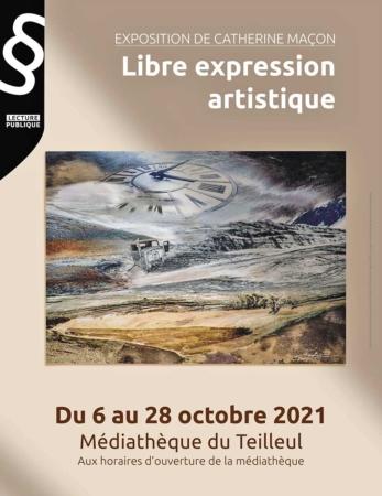 Exposition de Catherine Maçon @ Médiathèque